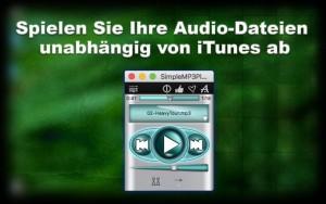 Spielen Sie Ihre Audio-Dateien unabhängig von iTunes ab