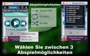 MP3 player app