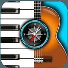 finden-sie-die-akkorde-auf-klavier-gitarre-ukulele-und-mehr-icon
