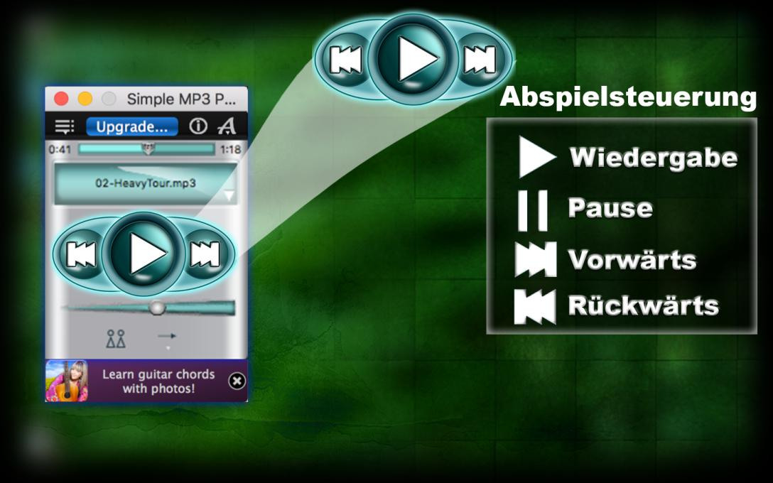 MP3 player app